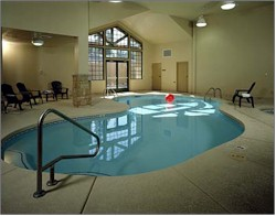 The only indoor pool at the canyon.